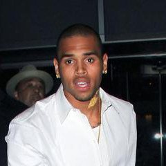 Chris Brown: MOMA Party Man