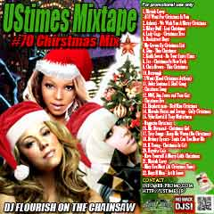"DJ FLOURISH 最新MIX CD ""UStimes Mixtape #70 This Christmas"""